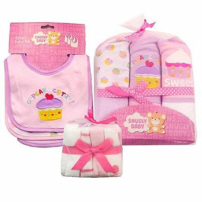 Baby Girl Bath Essentials 30 Pieces Layette Gift Set Special Price! MSRP $52.00