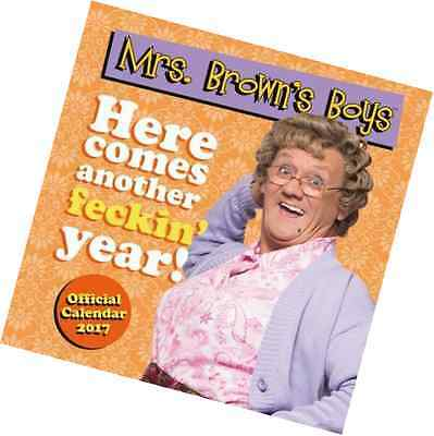 Mrs Brown's Boys Official 2017 Calendar (Square)