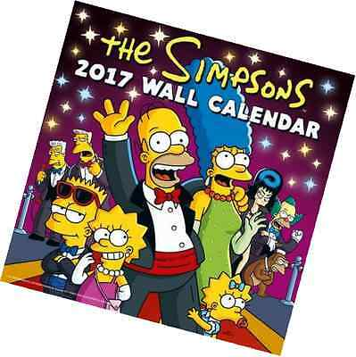 The Simpsons Official 2017 Calendar (Square)