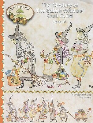 MYSTERY OF THE SALEM WITCHES 1 EMBROIDERY PATTERN From Crabapple Hill Studio