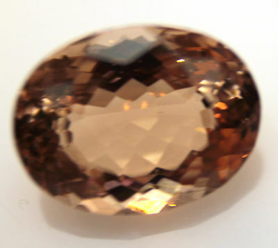 4.60 Ct IF Grand look Oval Cut 12 x 9 mm PEACH Pink Morganite