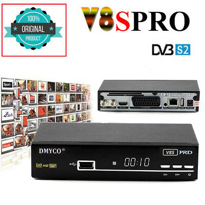 FTA V8 Super DVB-S2 Full HD Digital Satellite TV Receiver Decoder 3G USB WIFI