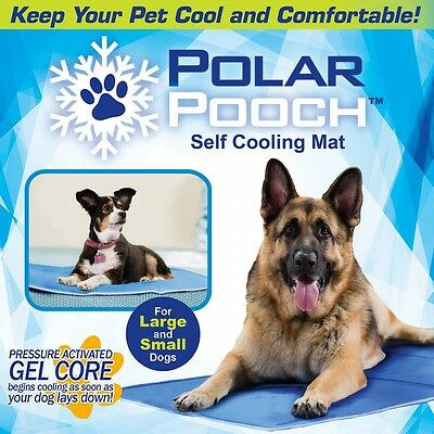 Polar Pooch For Large Small Dogs Indoor Outdoor As Seen On TV Cooling Dog Mat