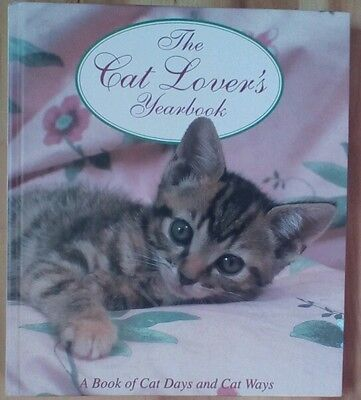 THE CAT LOVERS YEARBOOK by Joan Moore 1993