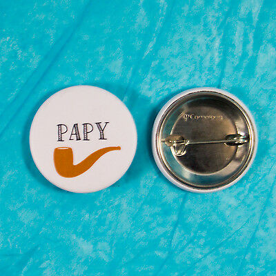Badge mariage Papy