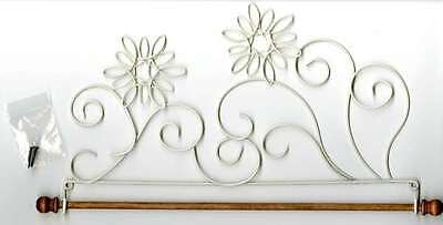 SNOWFLAKE QUILT HANGER HOLDER, With Dowel From Ackfeld Manufacturing NEW