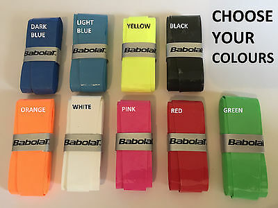 8 x BABOLAT My Grip Overgrip 9 COLOURS TO CHOOSE FROM Tennis Overgrips over grip