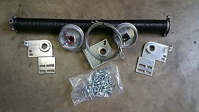 Wayne Dalton Garage Door 9100 8x7 Torque Master to Torsion Spring Conversion Kit