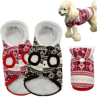 Winter Warm Dog Costumes Pet Clothes Coats for Small Large Dogs Chihuahua XS-XL