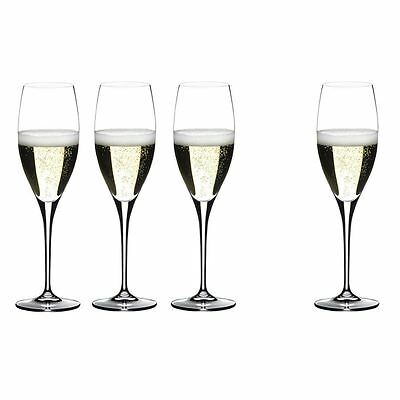 Riedel - Heart to Heart Champagne 330ml Pay 3 get 4 Pack   - Made in Germany