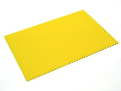 5mm YELLOW ACRYLIC(PERSPEX) SHEET 210MM X 148MM A5 SIZE