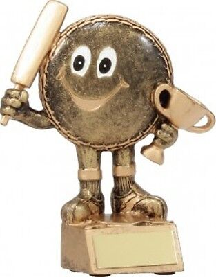 CRICKET CHARACTER TROPHY with FREE ENGRAVING
