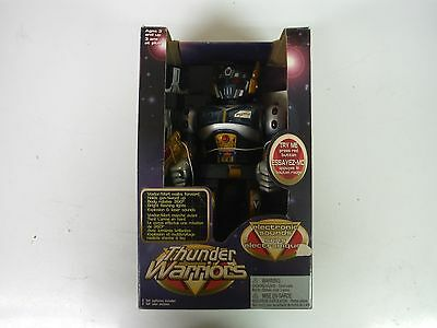 Thunder Warriors Toy Robot Electronic Sounds HAP-P-KID NEW