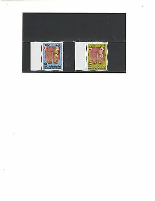 IRAQ: Sc. 1821-22  / ***Tuberclosis Day****/ 2 VALUES / MNH