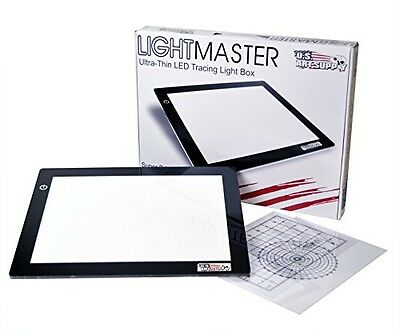 "US Art Supply US ART SUPPLY Lightmaster USB Powered 18.75"" Diagonal Professional"