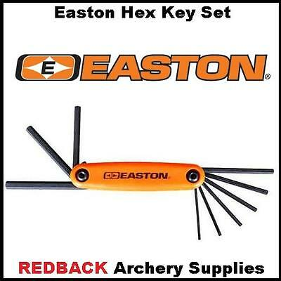 Easton 9 piece Hex set tools for compound bows