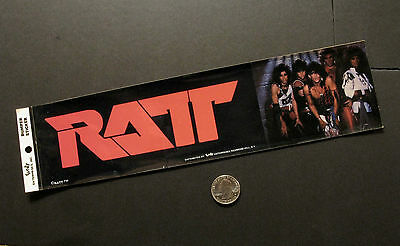 Ratt Vintage Official Bumper Sticker Us Import