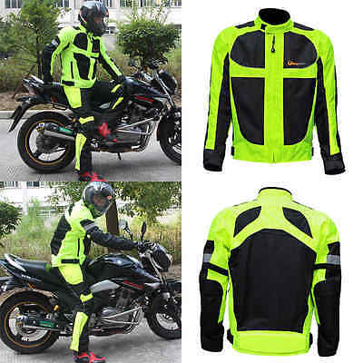 Men's Motorcycle Summer Winter Racing Suits Clothing Reflective Jackets M-4XL