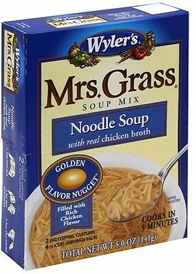 Wyler's Mrs. Grass Chicken Noodle Soup Mix, 5 Oz (Pack Of 12)