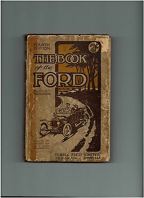 The Book Of The Ford By R.t. Nicholson - 1919