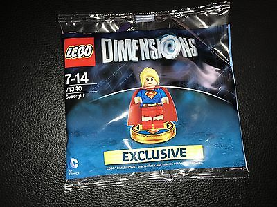 Lego Dimensions Video Game Super Girl Exclusive Figure New
