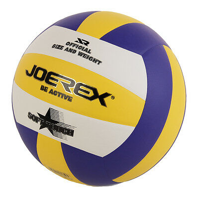 Official Size 5 Volleyball PU Soft Touch Indoor Outdoor Training Beach Game Ball