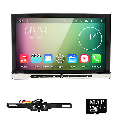 "Android 4.4 2DIN 7"" Stereo Car DVD player GPS navi radio 3G Wifi In-dash Tablet"