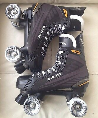 Bauer Supreme 140 Skates Uk 10.5 Air Wave Wheels