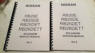 Nissan R33 Skyline Engine Manual Rb20E Rb25De Rb25Det Rb26Dett