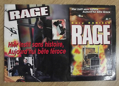 "Plv Film "" Rage "" Gary Daniels Relief Camions"