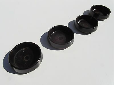 "4X Large 2"" Furniture Rests Floor Carpet Protectors Feet Cup Savers Castor R5"