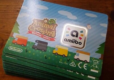 UPDATED 16/11 - Animal Crossing Amiibo Card Series 5 Welcome Amiibo! *BRAND NEW*