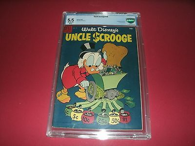 Uncle Scrooge #10 (Jun-Aug 1955, Dell) CBCS GRADED 5.5