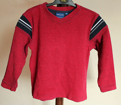 Boy's 4-5 Years Red sweatshirt Good Condition