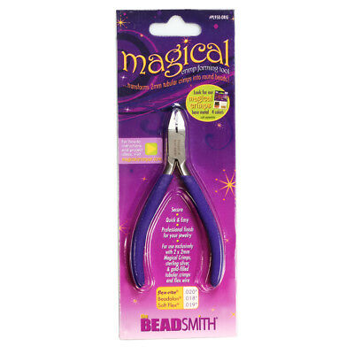 BeadSmith® Magical Crimper Pliers Use with 2mm Tubular Crimps * Jewelry Tool