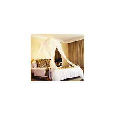 White Square Top Bed Canopy - Holiday Resort Style - SAME DAY DISPATCH