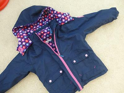 JOJO MAMAN BEBE 4-in-1 Waterproof Polarfleece Jacket 3-4yrs Coat Fleece lined