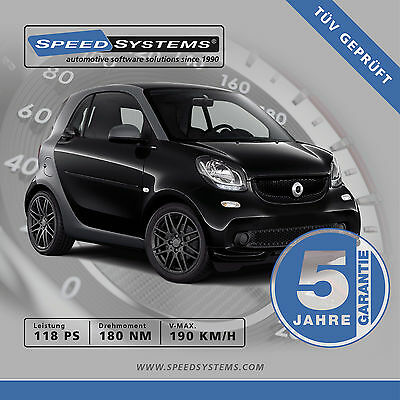 Chiptuning Smart Fortwo (453) 0.9 / 66 Kw