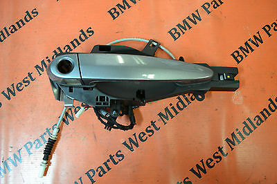 Bmw 3 Series E92 E93 Complete Exterior Door Handle In Grey O/s Right Side