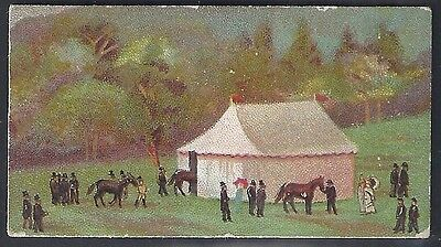 Wills Scissors-Derby Day Series Horse Racing (With Title)-#02- Quality Card!!!