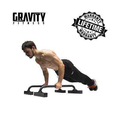 Gravity Fitness Low Parallettes pour Crossfit, Calisthenics, Gymnastique