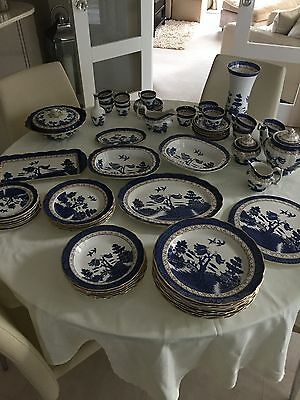Booths Real Old Willow Dinner Service