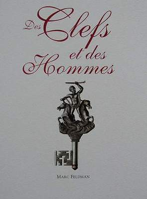 FRENCH BOOK : Antique Keys (door key, gate, cabinet ....clef)