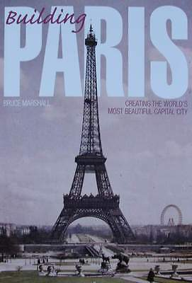 BOOK : BUILDING PARIS ( louvre,eiffel tower,notre-dame,Arc de Triomphe
