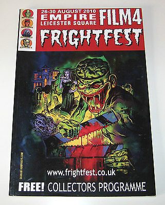 FRIGHTFEST 2010 Collectors Programme ft. Eli Roth, Texas Chainsaw Massacre, etc