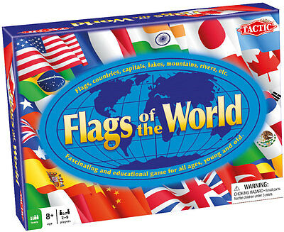 Tactic Games Flags Of The World - NEW