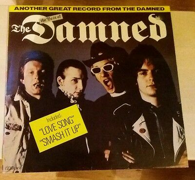 The Dammed -  The Best Of (Another Great Record From The Damned) Vinyl