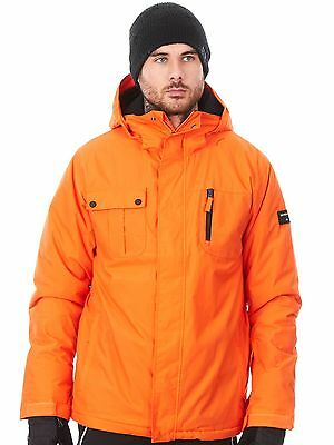 Chaqueta snow Quiksilver Mission Solid Flame
