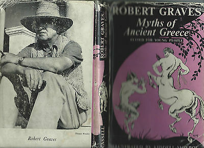 Myths Of Ancient Greece Ed By Robert Graves -  Collectible..impress With Myths..