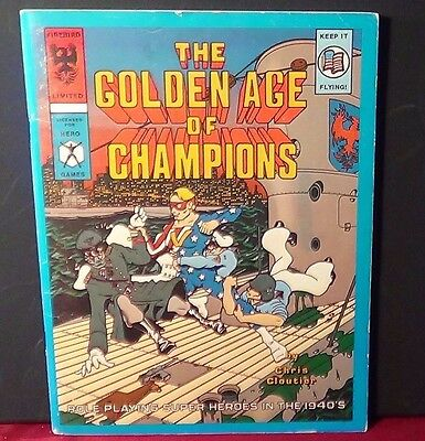 The Golden Age of Champions for Champions 2nd Edition